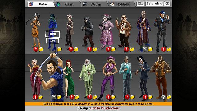 Spel Screenshot 2 Unlikely Suspects