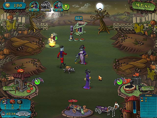 Spel Screenshot 1 Vampires Vs Zombies