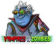 Feature Screenshot Spel Vampires Vs Zombies