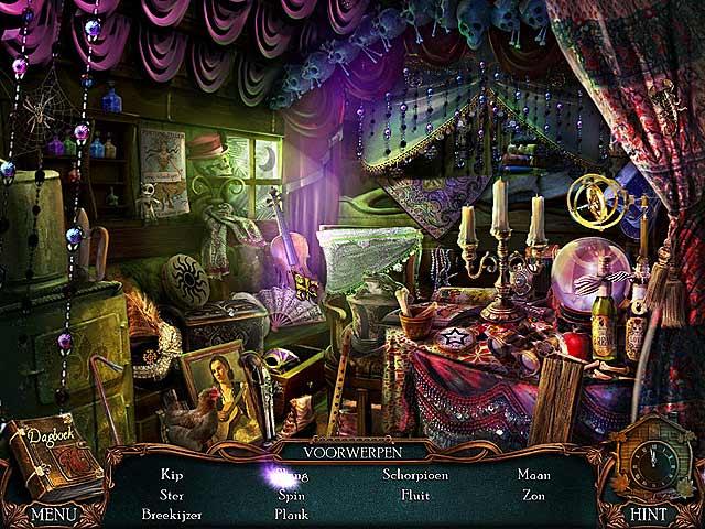 Spel Screenshot 3 Victorian Mysteries®: De Gele Kamer