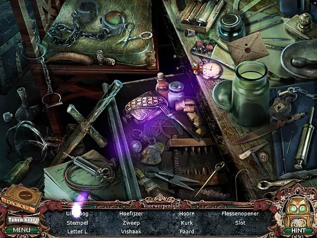 Spel Screenshot 3 Victorian Mysteries: De Vrouw in het Wit