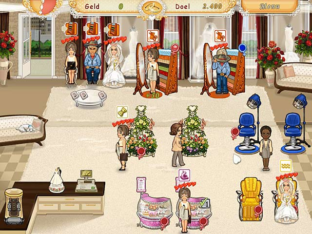 Spel Screenshot 1 Wedding Salon