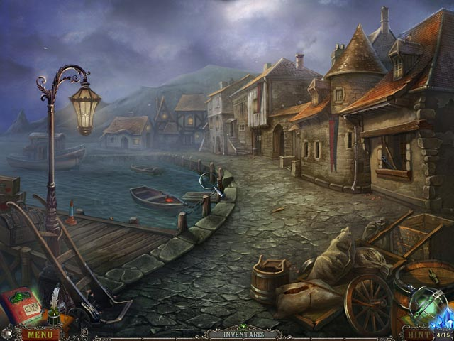 Spel Screenshot 1 Whispered Secrets: Het Tideville Mysterie