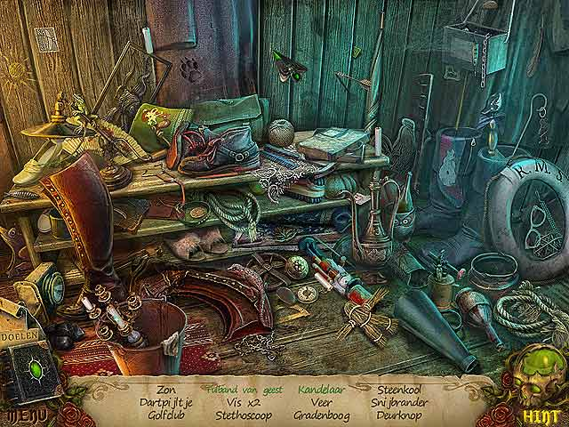 Spel Screenshot 3 Witches' Legacy: De Vloek van Charleston