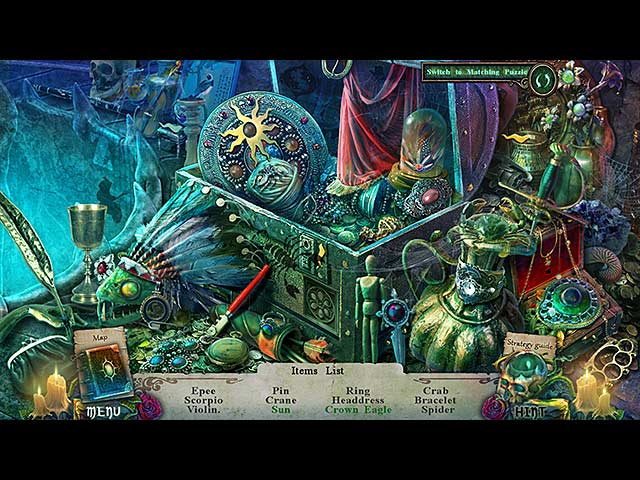 Spel Screenshot 1 Witches' Legacy: Hunter and the Hunted Collector's Edition