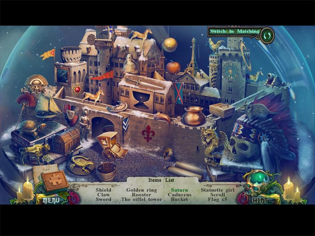 Spel Screenshot 2 Witches' Legacy: Slumbering Darkness Collector's Edition