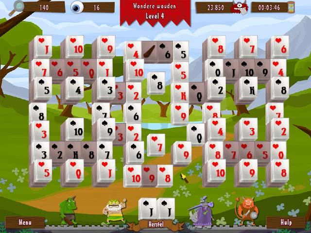 Spel Screenshot 2 Wonderland Mahjong