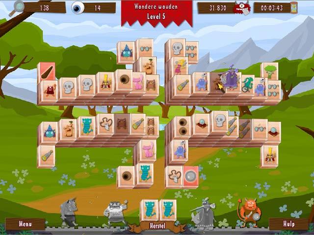 Spel Screenshot 3 Wonderland Mahjong