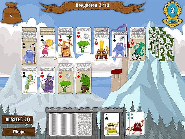 Spel Screenshot 3 Wonderland Solitaire