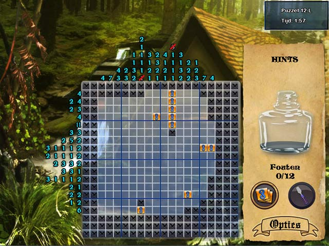 Spel Screenshot 3 World Mosaics 3 - Fairy Tales