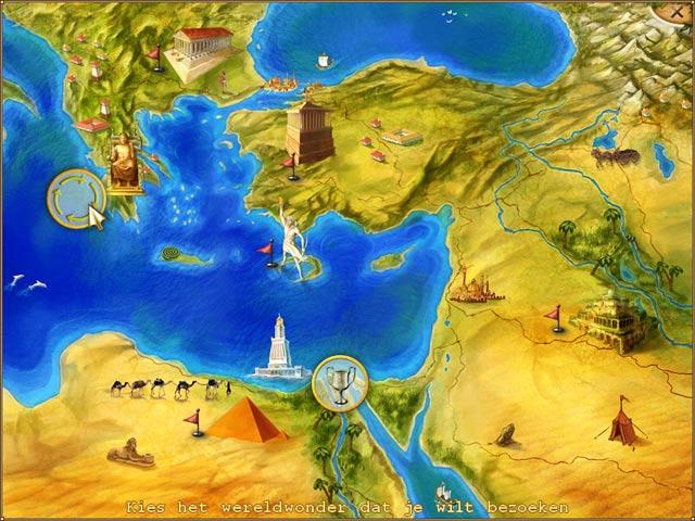 Spel Screenshot 2 World Riddles: Seven Wonders