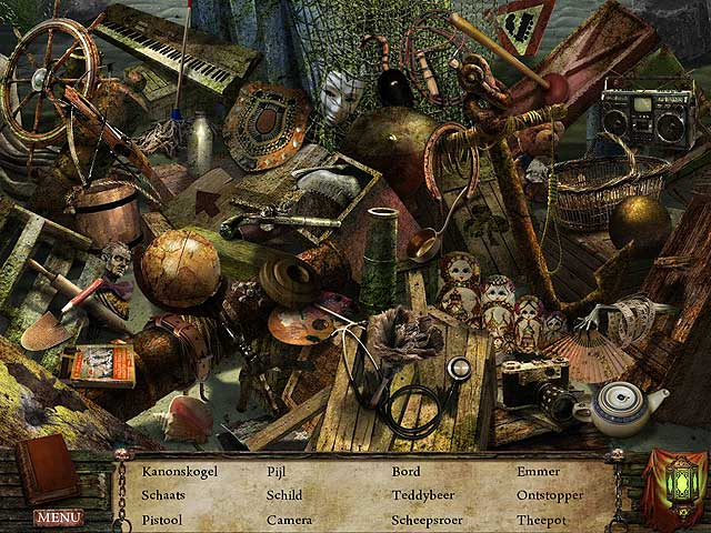 Spel Screenshot 1 Written Legends: Nachtmerrie op Zee