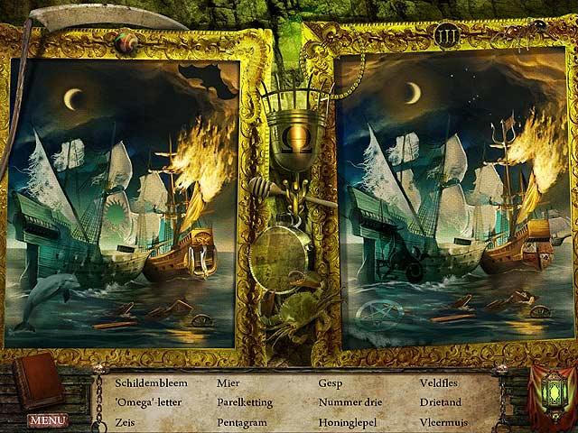 Spel Screenshot 2 Written Legends: Nachtmerrie op Zee