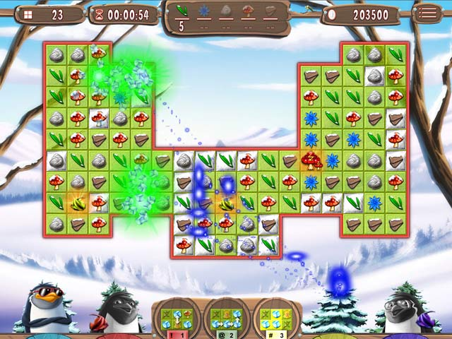 Spel Screenshot 1 Yeti Quest: Crazy Penguins