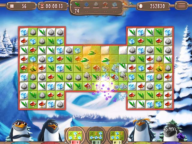 Spel Screenshot 2 Yeti Quest: Crazy Penguins
