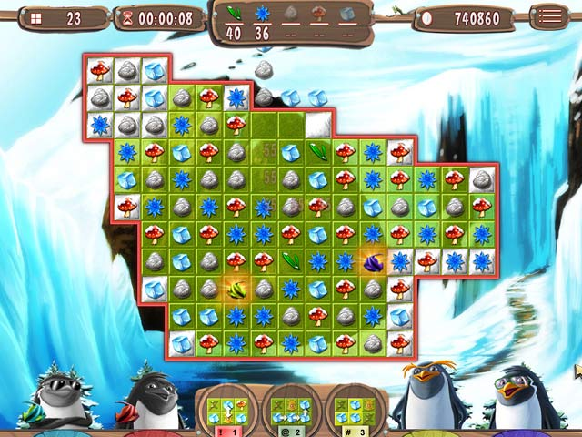 Spel Screenshot 3 Yeti Quest: Crazy Penguins