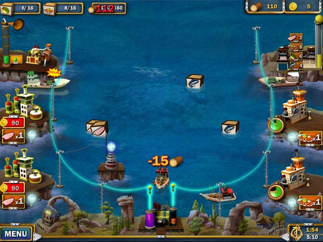 Spel Screenshot 3 Youda Fisherman