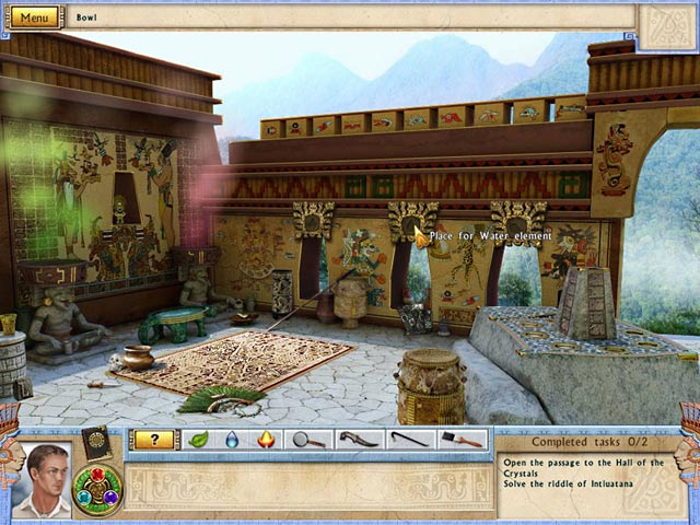 Game Skärmdump 1 Alabama Smith in the Quest of Fate