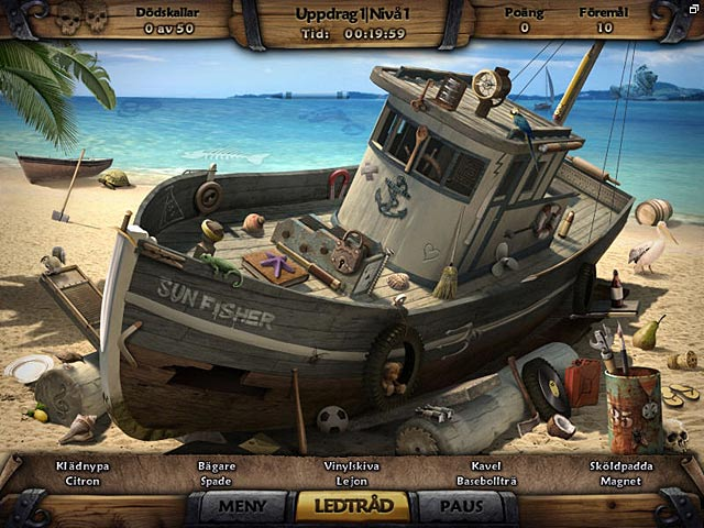 Game Skärmdump 1 Amazing Adventures: The Caribbean Secret