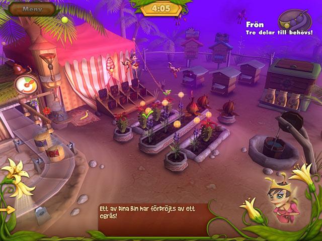 Game Skärmdump 1 Bee Garden: The Lost Queen