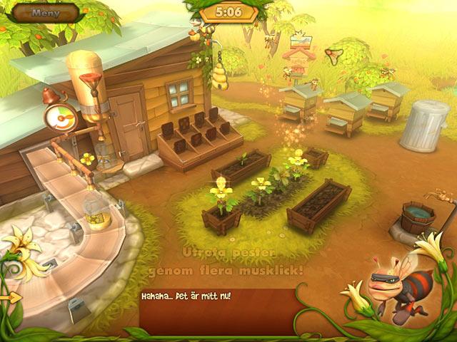 Game Skärmdump 2 Bee Garden: The Lost Queen