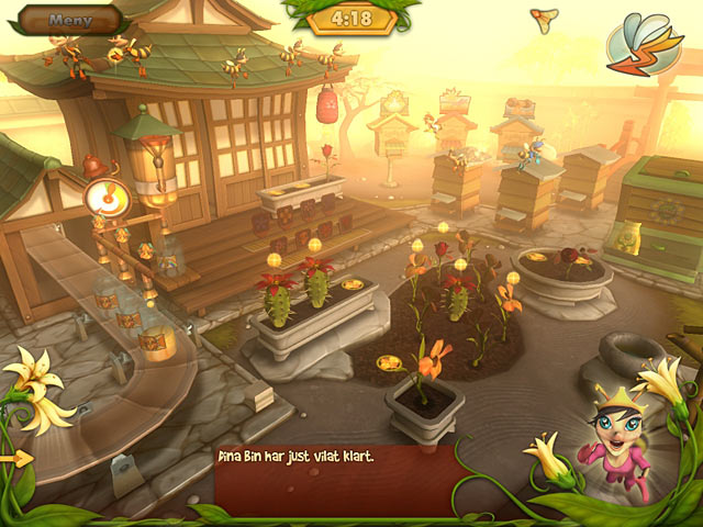 Game Skärmdump 3 Bee Garden: The Lost Queen