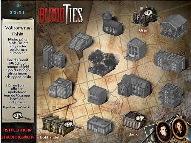 Game Skärmdump 3 Blood Ties