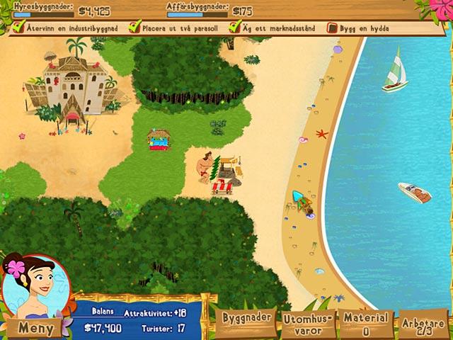 Game Skärmdump 2 Coconut Queen