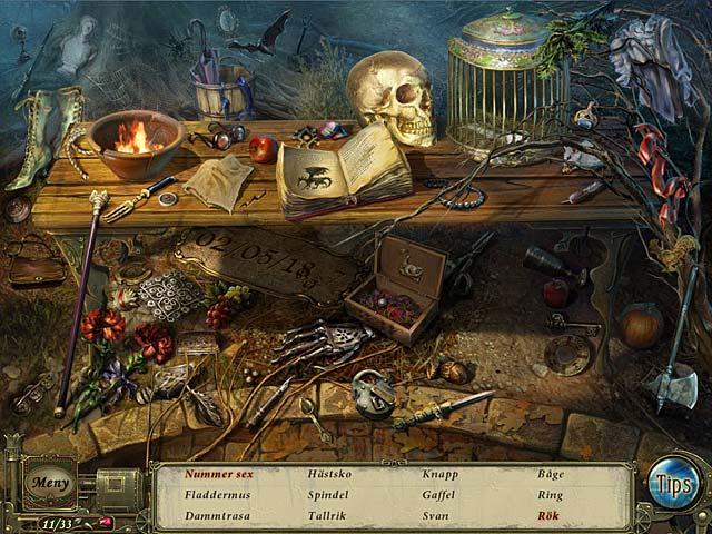Game Skärmdump 1 Dark Tales: Edgar Allan Poes Levande Begraven