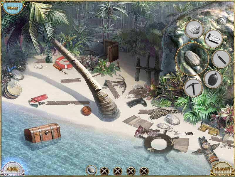 Game Skärmdump 1 Escape from Lost Island