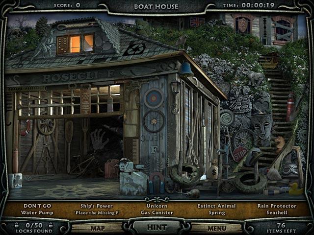 Game Skärmdump 1 Escape Rosecliff Island
