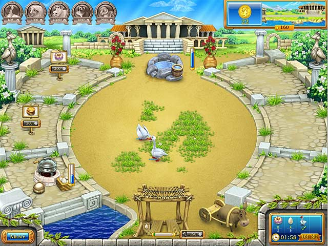 Game Skärmdump 1 Farm Frenzy: Ancient Rome