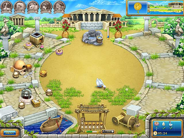 Game Skärmdump 2 Farm Frenzy: Ancient Rome
