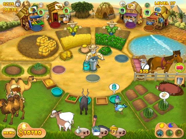 Game Skärmdump 1 Farm Mania: Hot Vacation