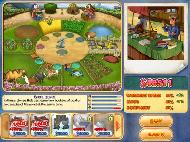 Game Skärmdump 3 Farm Mania: Hot Vacation