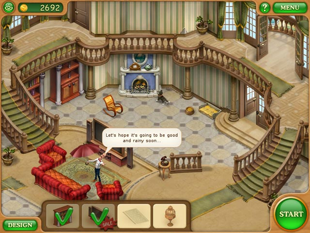 Game Skärmdump 1 Gardenscapes: Mansion Makeover