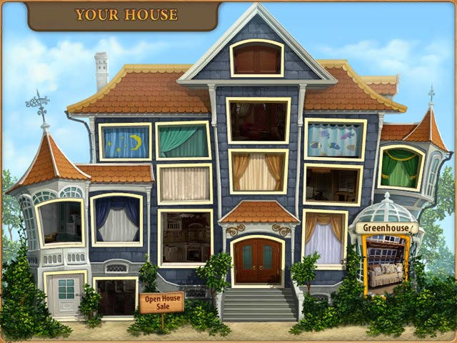 Game Skärmdump 3 Gardenscapes: Mansion Makeover