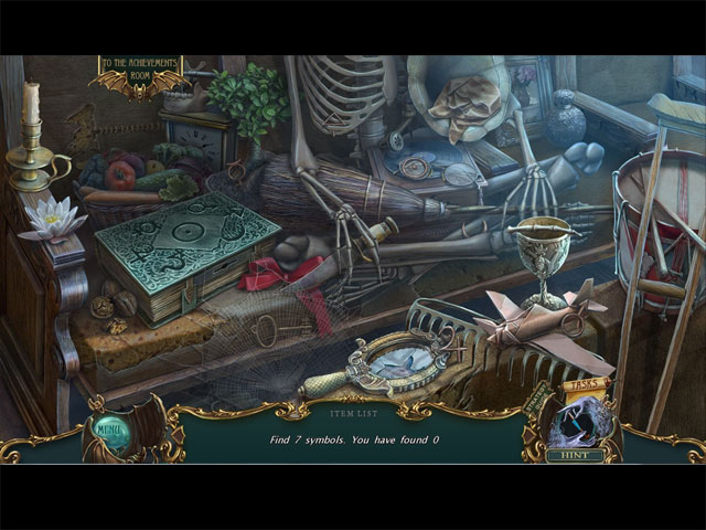Game Skärmdump 1 Haunted Legends: The Dark Wishes Collector's Edition