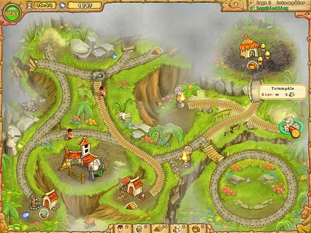 Game Skärmdump 2 Island Tribe