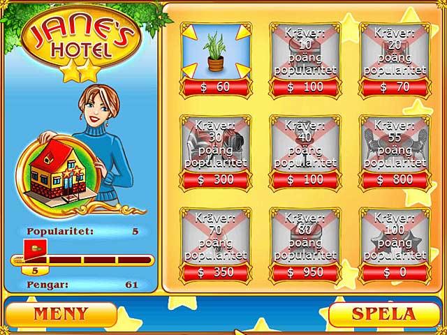 Game Skärmdump 2 Jane's Hotel