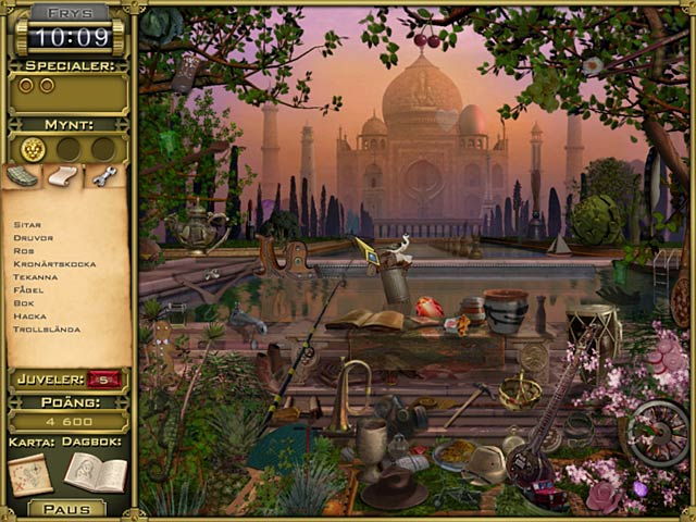 Game Skärmdump 1 Jewel Quest Mysteries: Trail of the Midnight Heart