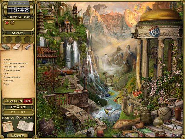 Game Skärmdump 2 Jewel Quest Mysteries: Trail of the Midnight Heart