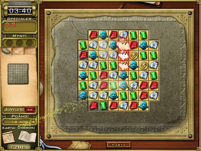 Game Skärmdump 3 Jewel Quest Mysteries: Trail of the Midnight Heart