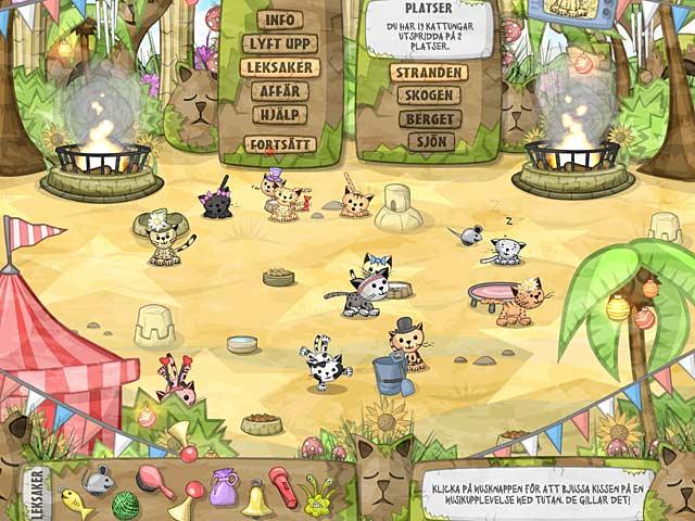 Game Skärmdump 3 Kitten Sanctuary