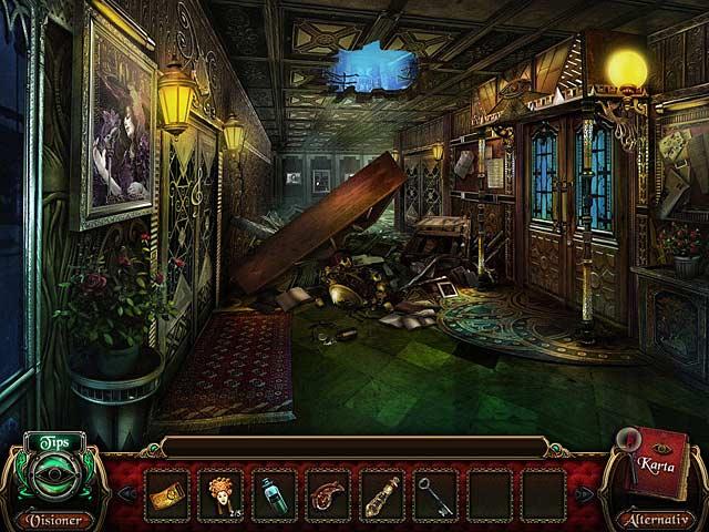 Game Skärmdump 2 Macabre Mysteries: Nightingales förbannelse