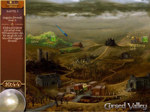 Game Skärmdump 2 The Magician's Handbook: Cursed Valley