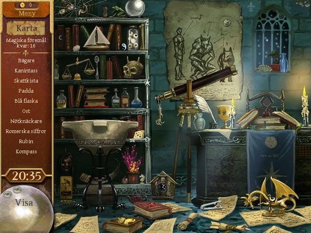 Game Skärmdump 3 The Magician's Handbook: Cursed Valley