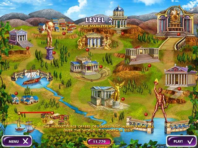 Game Skärmdump 2 Mahjong Mysteries: Ancient Athena