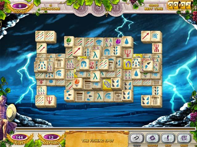 Game Skärmdump 3 Mahjong Mysteries: Ancient Athena