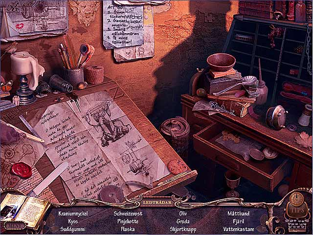 Game Skärmdump 2 Mystery Case Files: Return to Ravenhearst